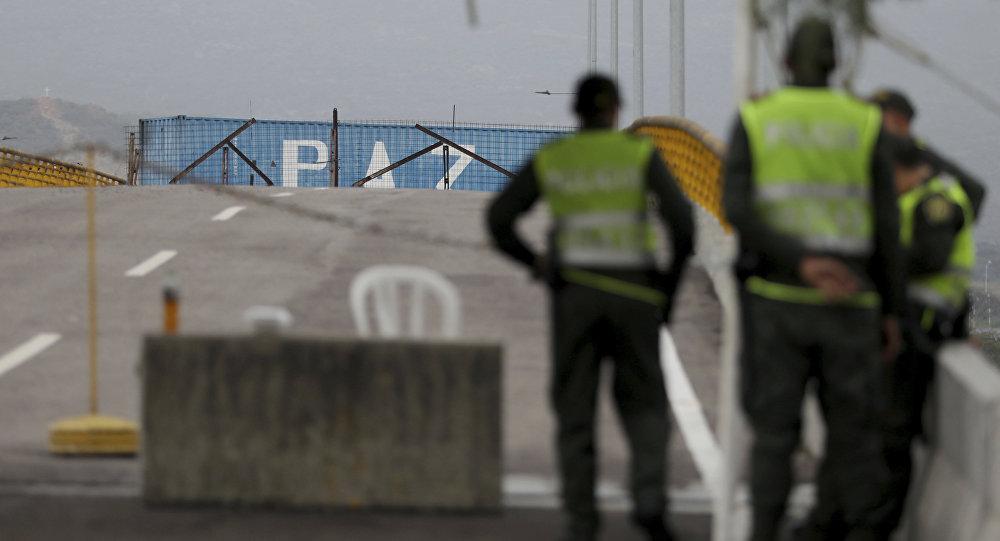 la situation à la frontière entre la Colombie et Venezuela