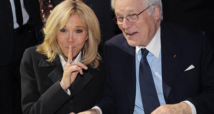 Brigitte Macron au Dîner du CRIF 2019