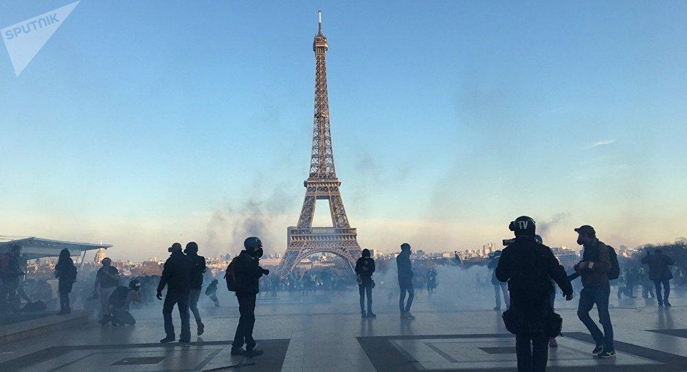 Acte 15 des Gilets jaunes à Paris