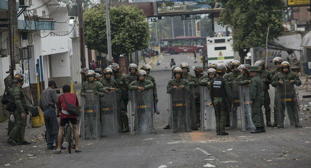 Situation à la frontière entre le Venezuela et la  Colombie