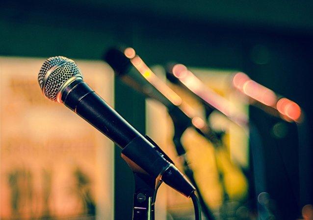 Un microphone
