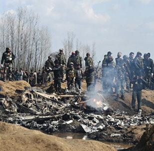 crash dun avion des Forces aériennes indiennes
