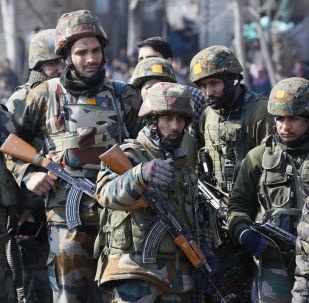 Des militaires indiens