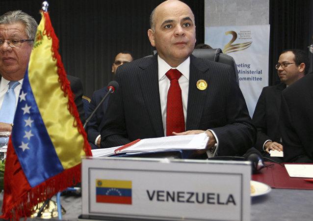 Manuel Quevedo, ministre vénézuélien du Pétrole