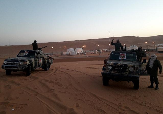 Des membres de l'Armée nationale syrienne (ANL) du maréchal Haftar