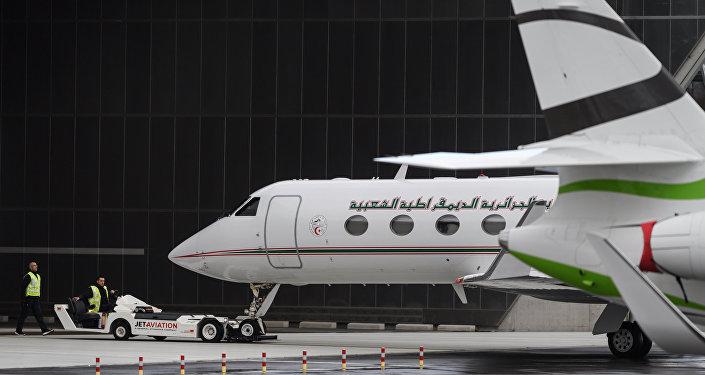 L'avion d'Abdelaziz Bouteflika