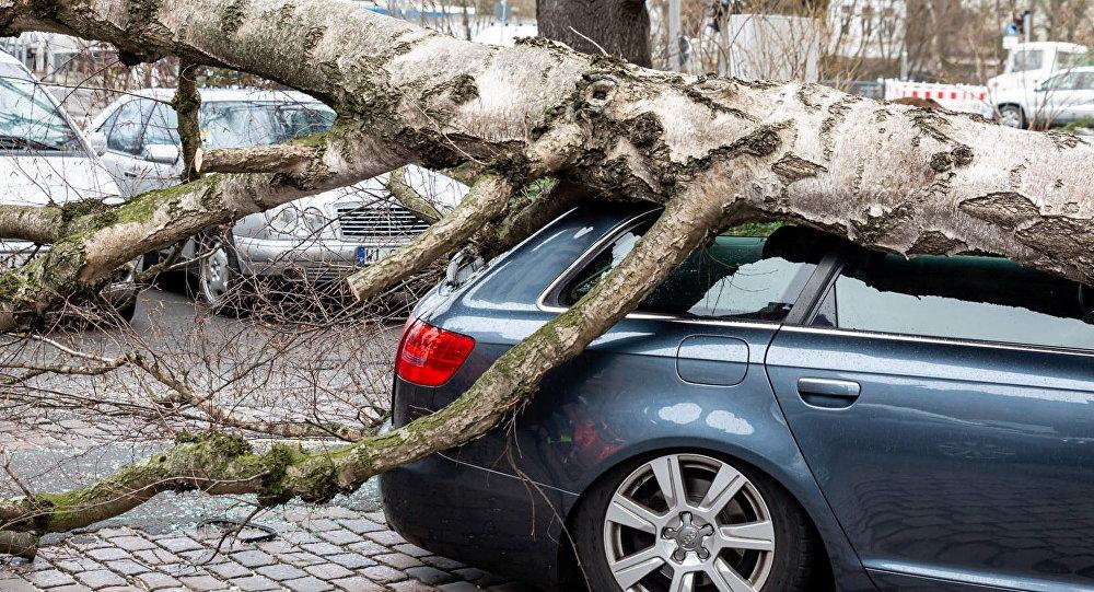 Une tempête sévit en Allemagne (archives)