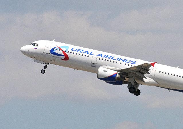 Un Airbus 321 d'Ural Airlines