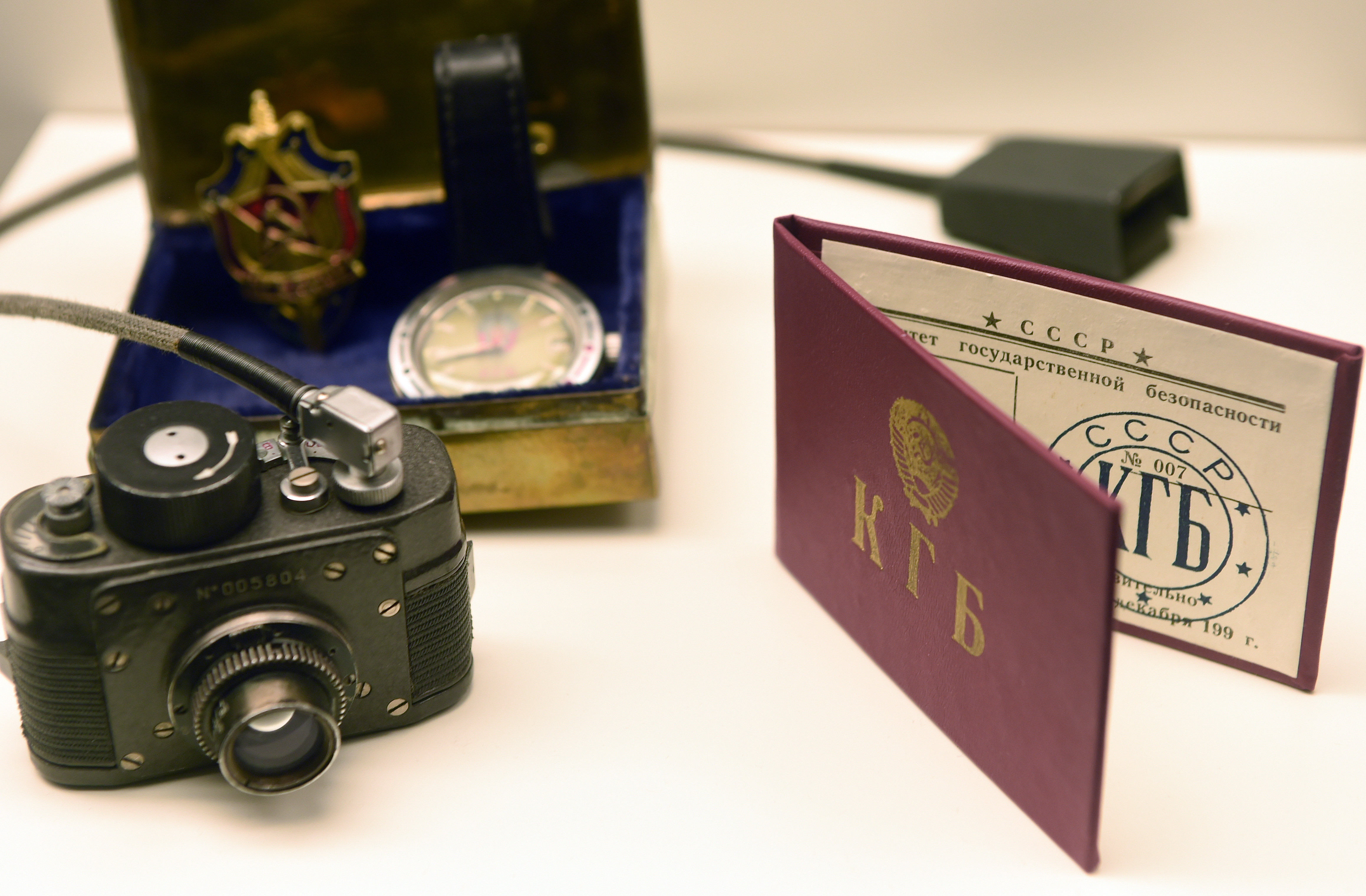 Les avoirs d'un agent du KGB exposés au Musée d'espionnage en Allemagne