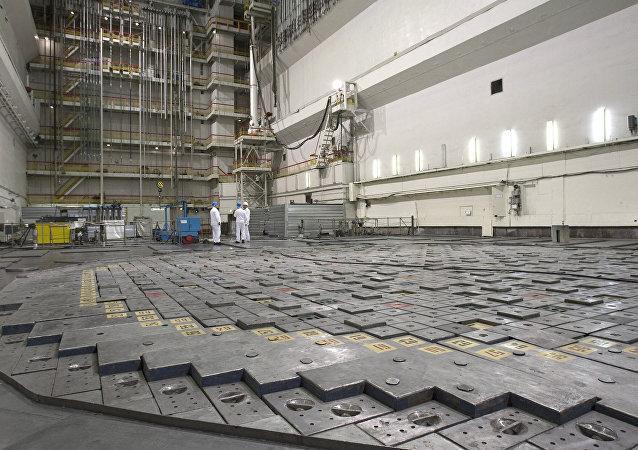 Réacteur nucléaire / image d'illustration