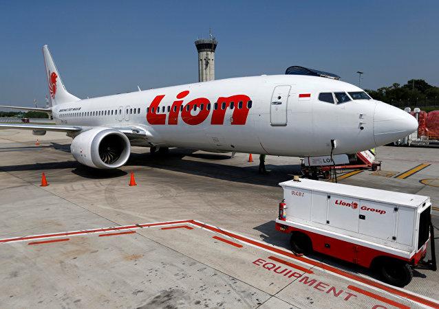 Un Boeing 737 Max 8 de Lion Air