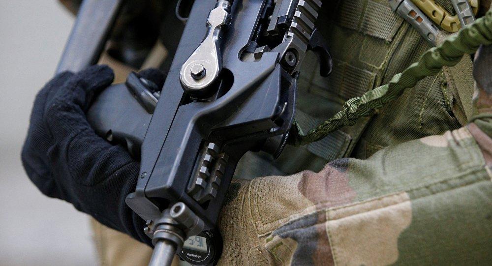 Un soldat français