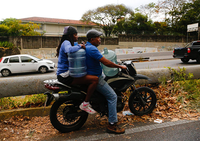 Dans les bidonvilles de Caracas