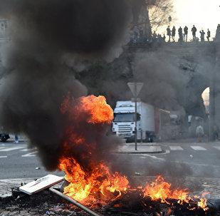 Manifestation des forains au Mans (22 mars 2019)