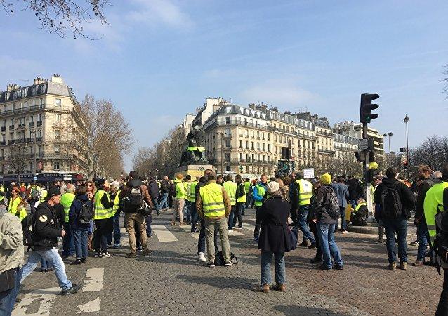 L'acte 19 de la mobilisation des Gilets jaunes