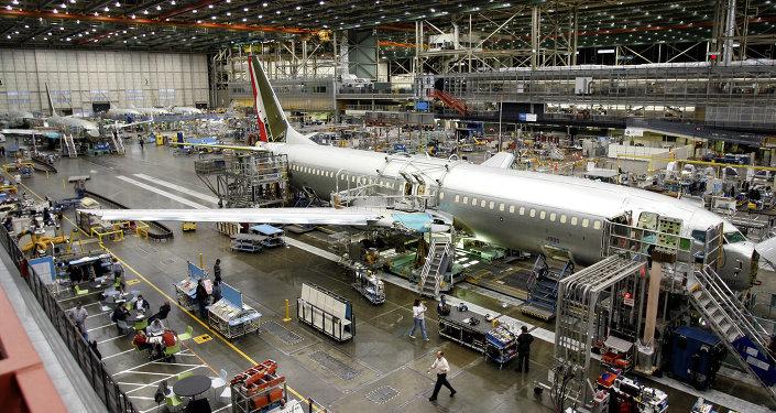 Le géant américain de l'aérospatial Boeing