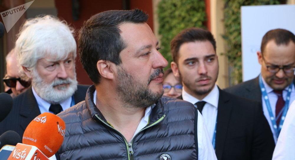 Salvini sur les européennes: «La dernière fois, on a eu 6%. Cette fois-ci, on aura plus»