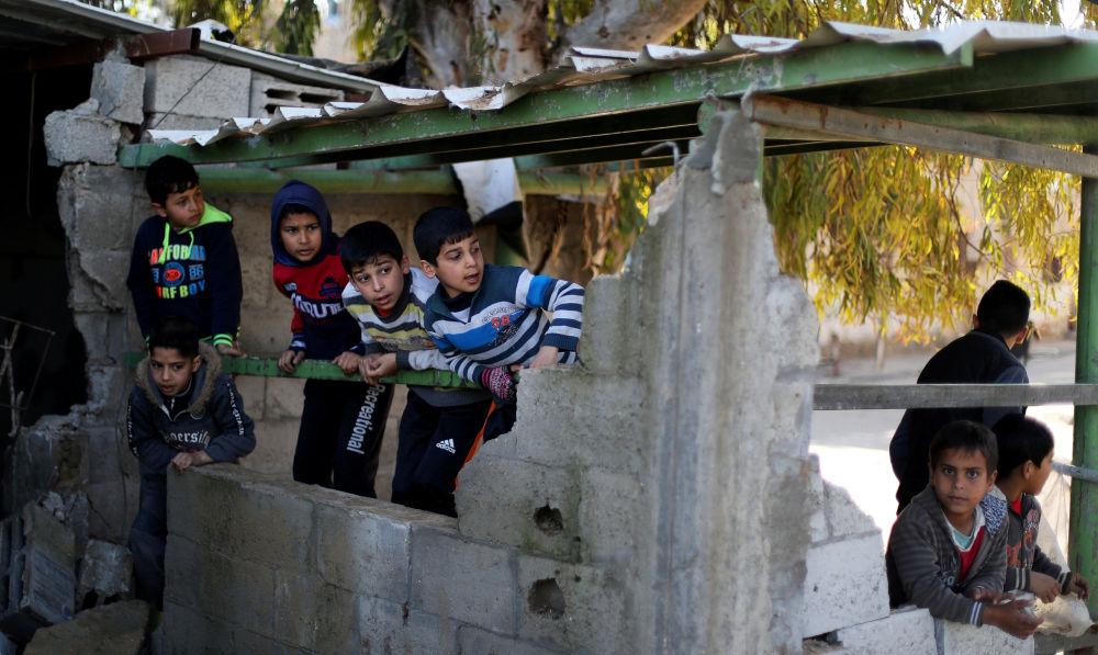 Frappes israéliennes contre la bande de Gaza