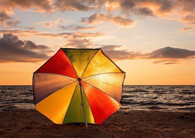 un parasol