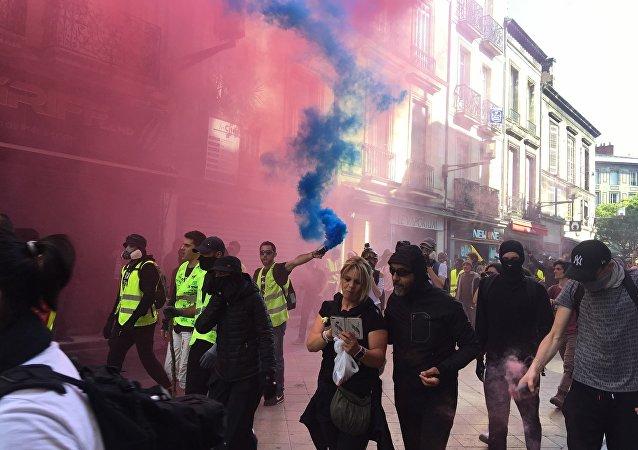 Acte 20 des Gilets jaunes à Bordeaux