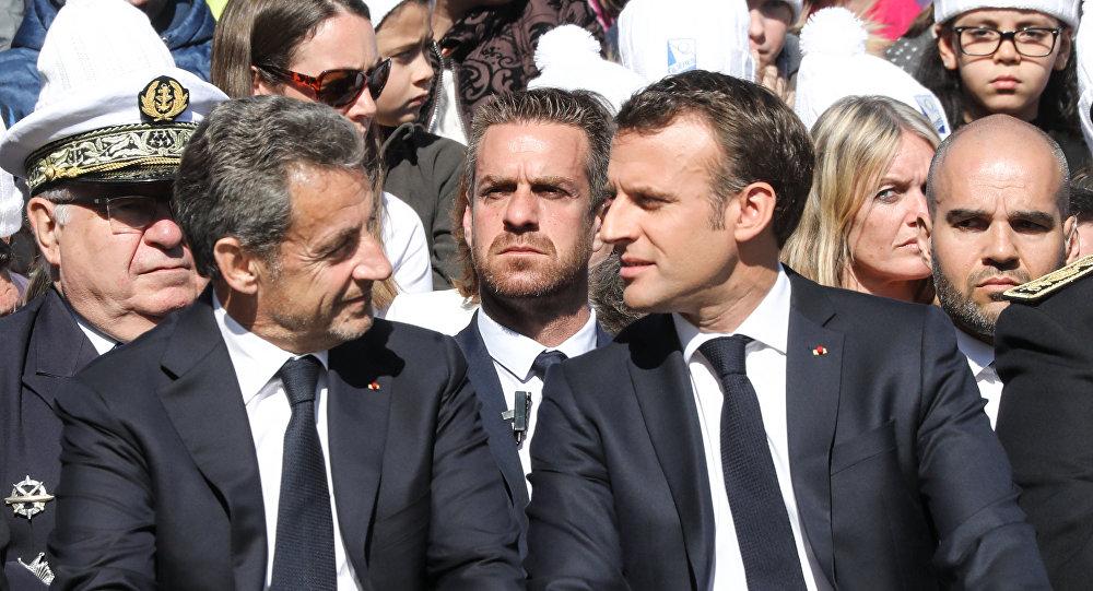 Emmanuel Macron et Nicolas Sarkozy