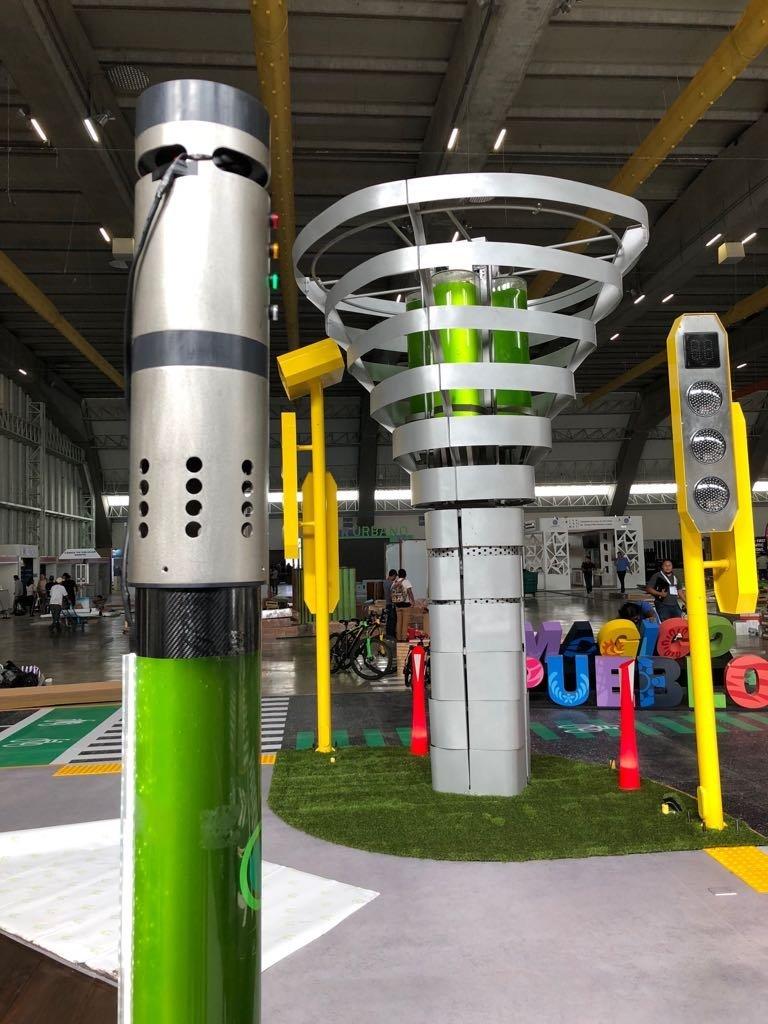 Biourban, arbre mécanique capable de remplacer 368 arbres ordinaires
