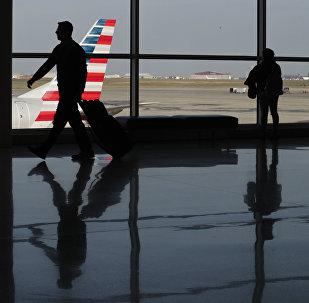 Un aéroport américain (image d'illustration)