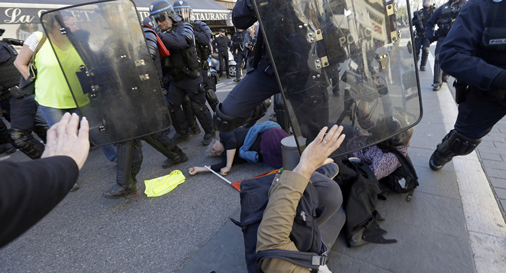 Une septuagénaire blessée lors de l'acte 19 des Gilets jaunes à Nice