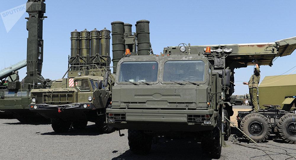 Le système de défense antiaérienne russe S 400