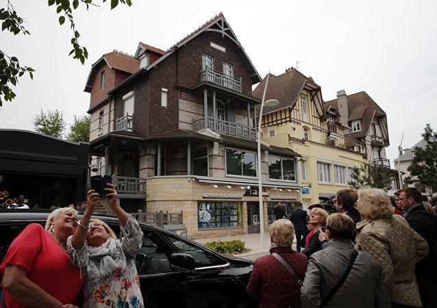 La villa du Touquet du couple Macron (archives)