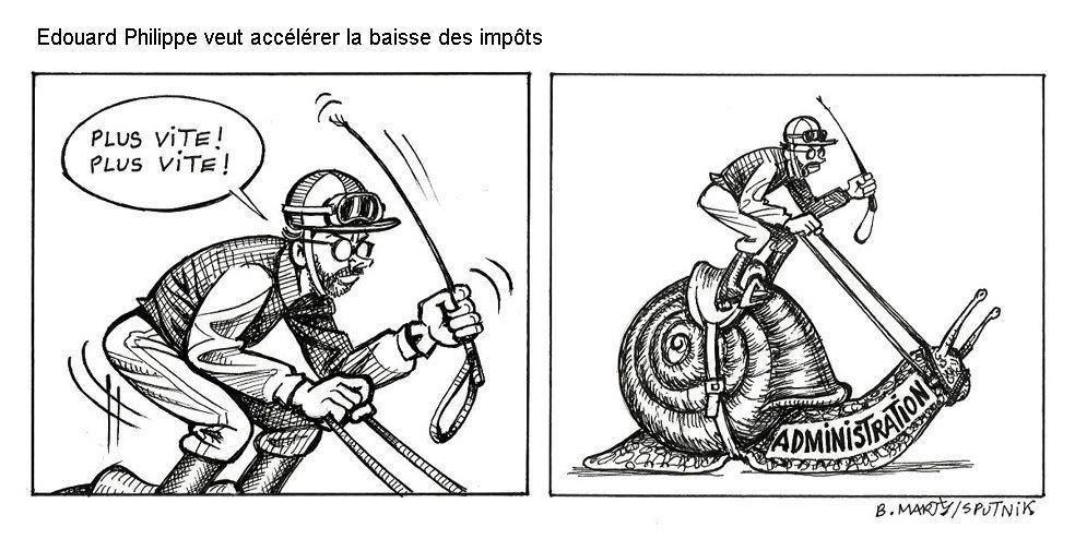 «Immense exaspération fiscale», Édouard Philippe veut accélérer la baisse des impôts