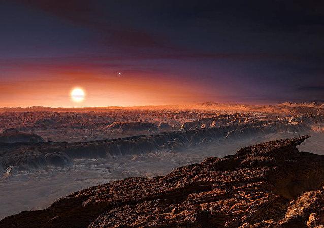 Une exoplanète (Image d'illustration)