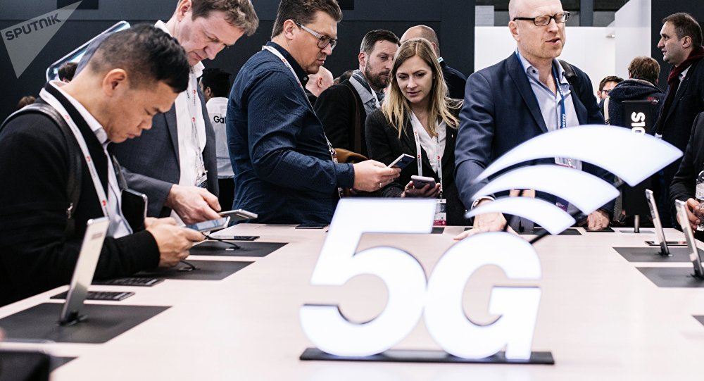 5G Stand at Mobile World Congress 2019