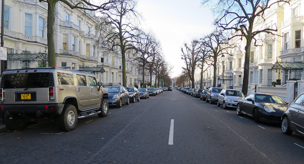 Holland Park Street à Londres