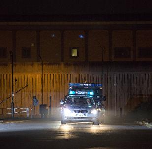 Prison de Belmarsh à Londres