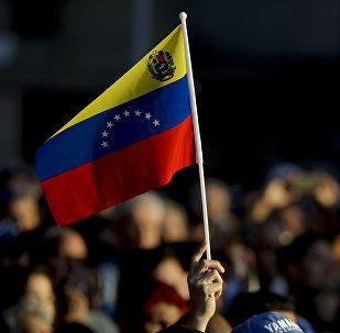 Manifestation à Caracas, Venezuela
