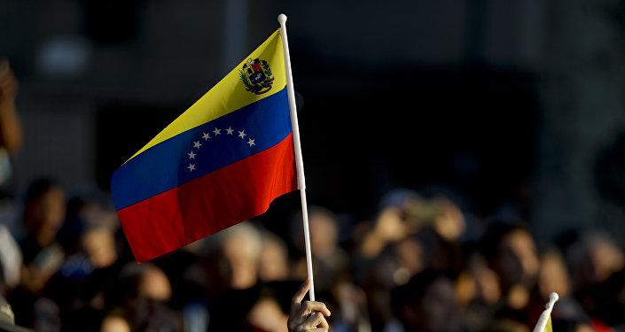 Le drapeau vénézuélien
