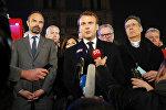 Emmanuel Macron s'exprime après l'incendie de Notre-Dame