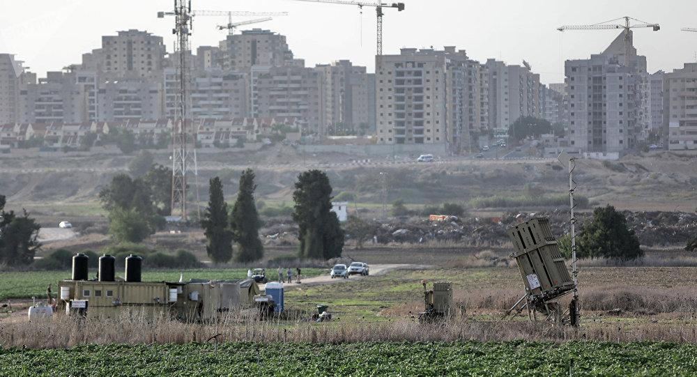 Le système Dôme de fer aux abords d'Ashkelon
