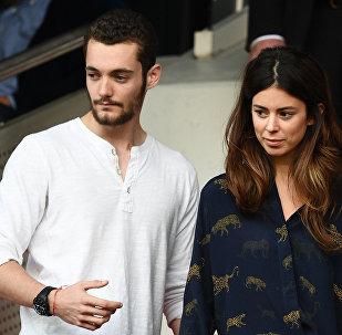 Louis Sarkozy et Natali Husic