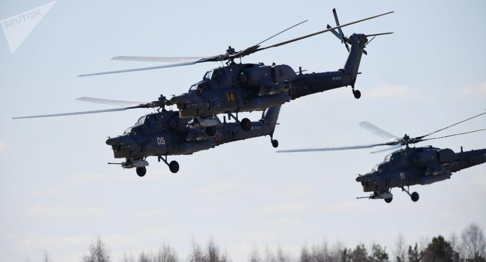 Les hélicoptères MI-28 Chasseurs de nuit