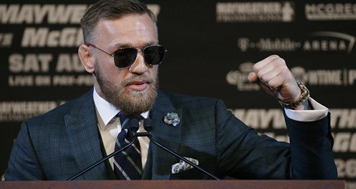 UFC Fighter Conor McGregor