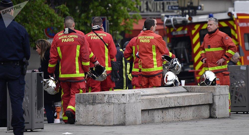Pompiers parisiens (images d'illustration)