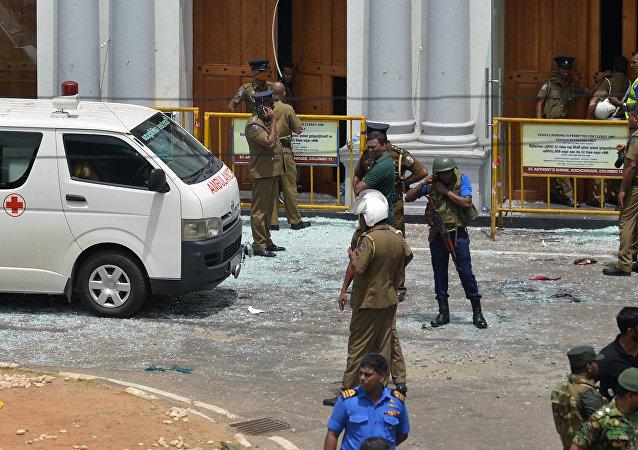 Explosion au Sri Lanka