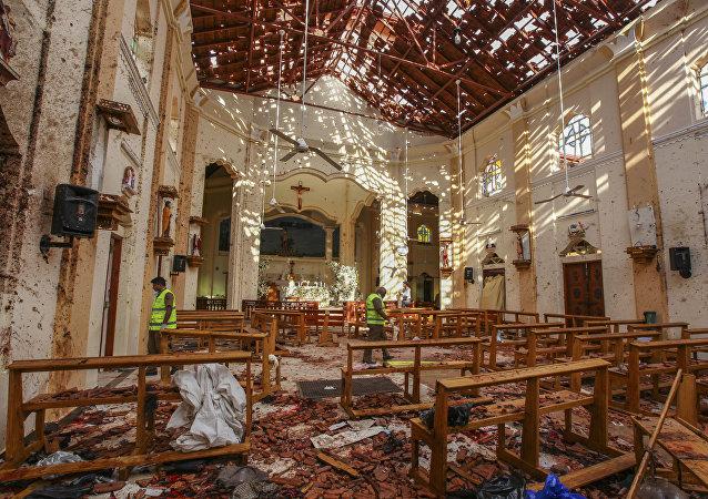 Les attentats du 21 avril 2019 au Sri Lanka