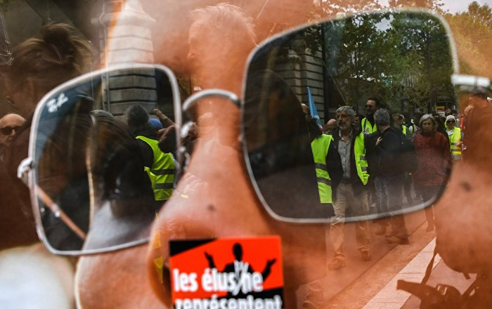 Les Gilets jaunes (image d'illustration)