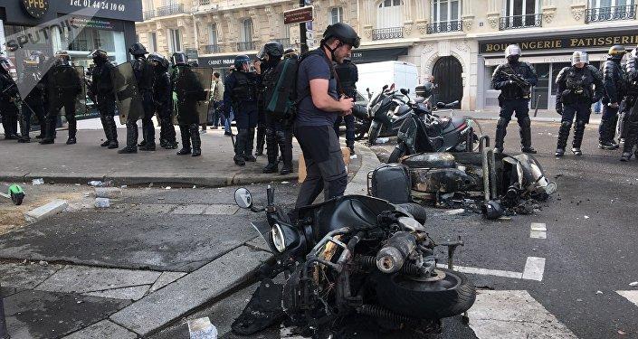 1er-Mai à Paris, 2019 (image d'illustration)