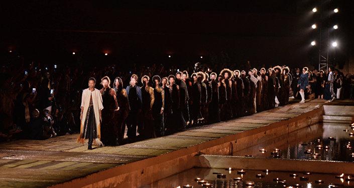 défilé Dior à Marrakech