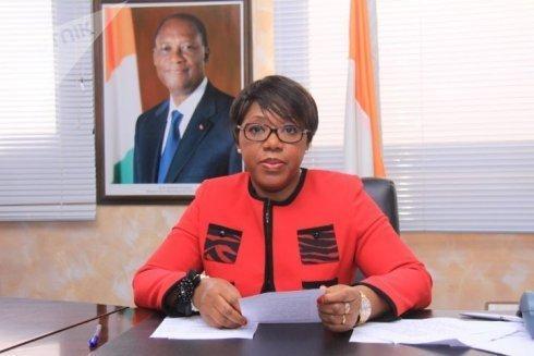Euphrasie Yao, conseillère spéciale du président ivoirien chargée du genre