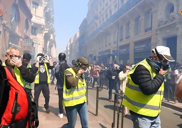 L'acte 22 des Gilets jaunes à Toulouse
